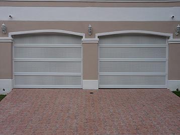 Garage Doors in Perforated Aluminium & Garage Doors in Perforated Aluminium | Euro Garage Doors Puerto Rico