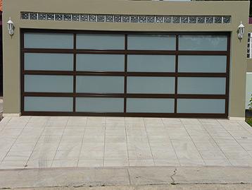 & Garage Doors in Perforated Aluminium   Euro Garage Doors Puerto Rico