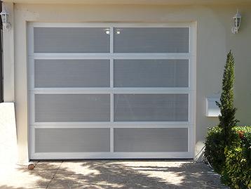 Puertas de garaje aluminio