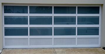 Garage Doors In Perforated Aluminium Euro Garage Doors